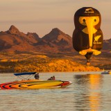 Kiwi Over Lake Havasu