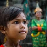 Playing at Angkor Wat